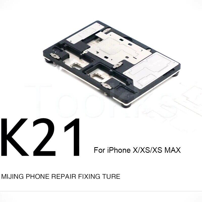 MJ K21 Solderin Fixture For iPhone X XS MAX Circuit Board BGA Reballing Platform