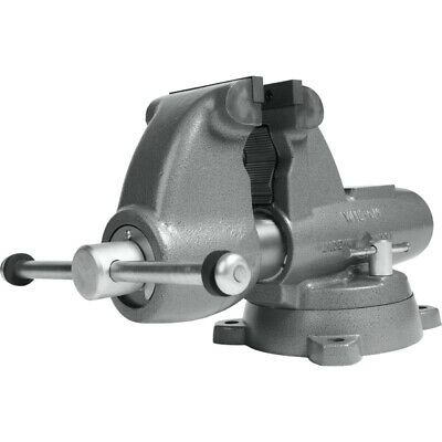 Wilton 28827 Combination Pipe And Bench 5 Jaw Round Channel Vise With Swivel