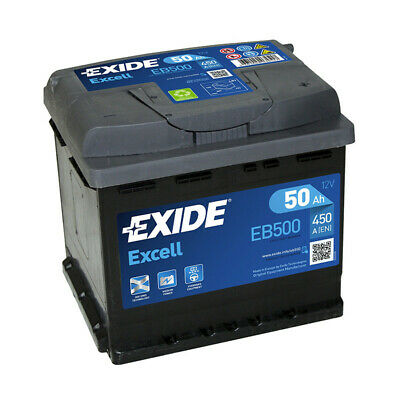 Batterie Exide EB500 12v 50AH 450A