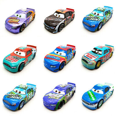 Disney Pixar Cars 3 Racers No.4-No.123 1:55 Loose Metal Model Toy Car Kids Boys