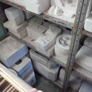 Used ceramic Kiln and amazing collection of ceramic molds Kitchener / Waterloo Kitchener Area image 6