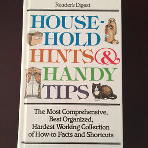 Household Hints & Handy Tips - Reader's digest hardcover book