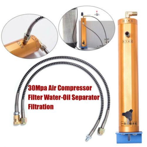 300 Bar 4500PSI pcp air compressor filter oil water separator plumbing part