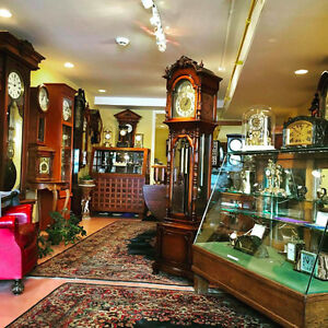"30% Off of All Antique Clocks. ""Antiques in Time"" Stratford, On"
