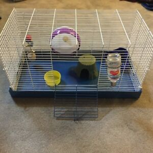 Pet cages with food & accessories-ALL YOU NEED IS THE PET