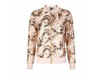 Nude Mesh Sequin Embellished Jacket