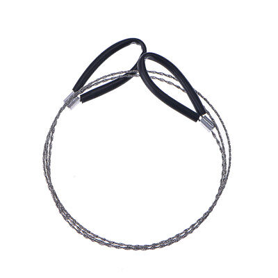 Lightweght Stainless-Steel Wire Saw Outdoor Survival Tool Kit Survival Saw YH Z0 - 2