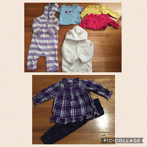 Girl 6-12 Month Clothing Bundle 7 Pieces