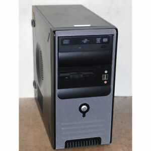 Custom Built Desktop PC Core i3-2120 3.30GHz 8GB RAM 250GB DVDRW
