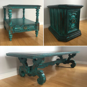 Beautiful vintaged painted furniture - ALL REDUCED* 9 Pieces