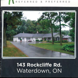 Beautiful Escarpment Home for Rent in Waterdown $2500.00/Month