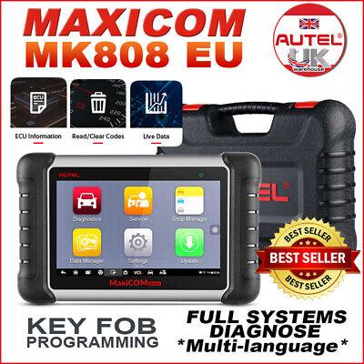 TOP SELL! EU Autel MaxiCOM MK808 Tablet Diagnostic Scanner Fault Code Reader Kit