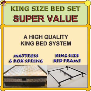 KING SIZE BED SET - PRISTINE CONDITION