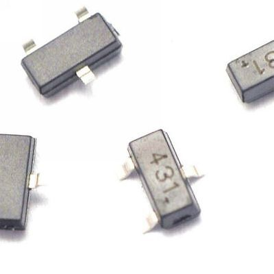 50pcs Tl431 431 Sot-23 Regulators Transistor Smd Transistor
