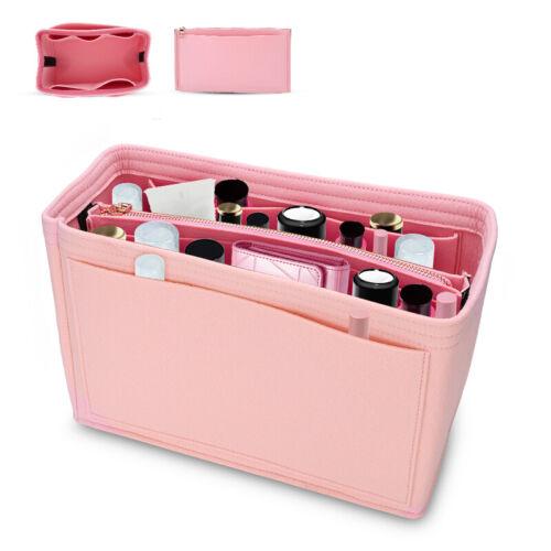 Felt Purse Handbag Organizer Insert Multi pocket Storage Lin