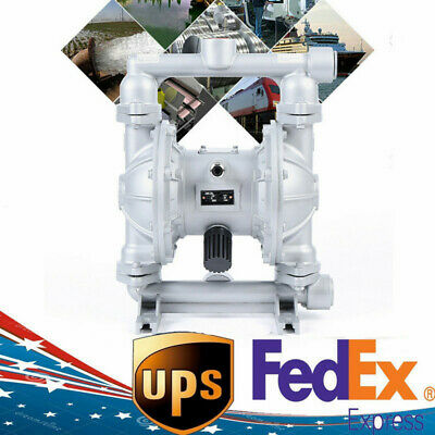 Pneumatic Double Diaphragm Pump For Low Vicosity Petroleum Fluids Usa Stock