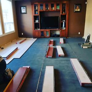 Laminate flooring sell and Installation