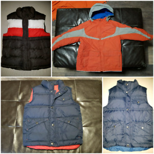 Size 7 vests and coat