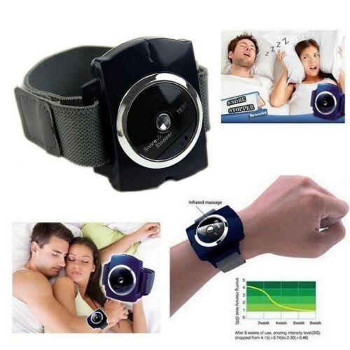 Anti Snoring Watch Wristband Device Sleep Apnea Snoring Aids