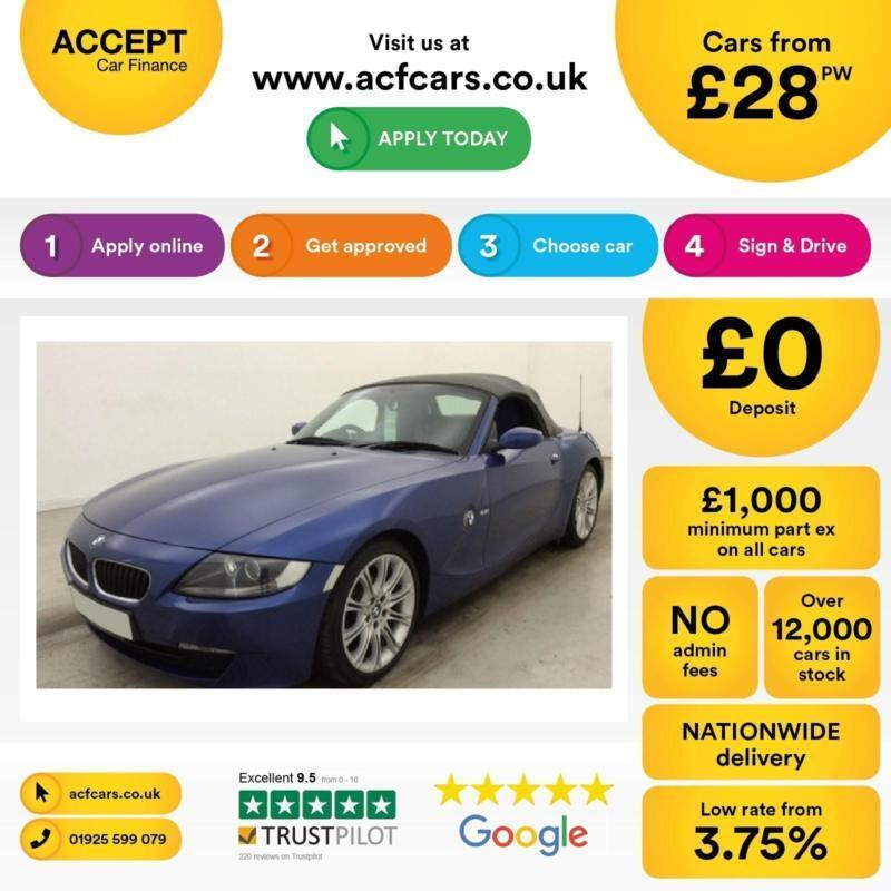 BMW Z4 2.5i Sport Roadster FINANCE OFFER FROM £28 PER WEEK!