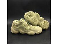 Yeezy 500 Blush Desert Rat - Moon Yellow Limited Sizes - WITH BOX
