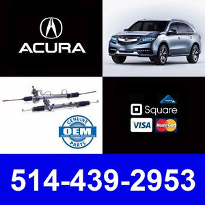 Acura MDX ► Crémaillère • Rack and Pinion • Axle • Cardan
