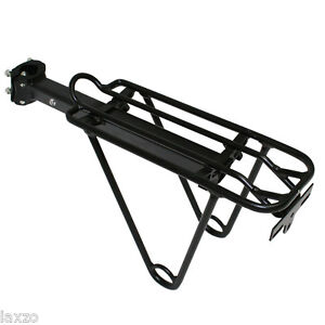 Bicycle-seat-saddle-post-cycle-rear-carrier-bracket-bike-pannier-rack-luggage