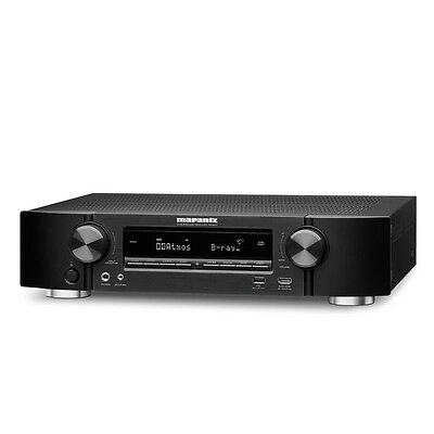 Marantz NR1607 Ultra HD 7.2 Channel Network A/V Receiver with Bluetooth and WiFi