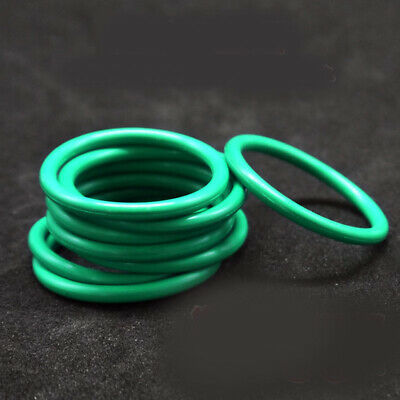 Fluorine Rubber O Rings 3.5mm 10mm -70mm Id Seal Oil Resistant Fkm O-ring Green