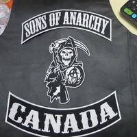 Sons Of Anarchy Patches Set Of 3 Brand New ONLY $20 Re-Gear Oshawa / Durham Region Toronto (GTA) Preview