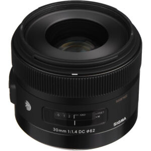 SIGMA 30MM F1.4 DC SIGMA HSM LENS (ART) for CANON