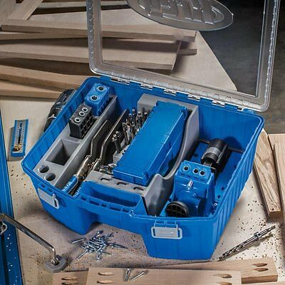 Kreg Tool Box Organizer Versatile Storage Bays Durable Construction Visible Case ()