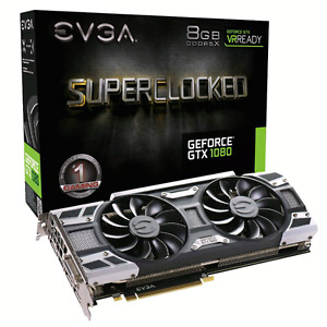EVGA GTX 1080 Superclocked Graphics Card