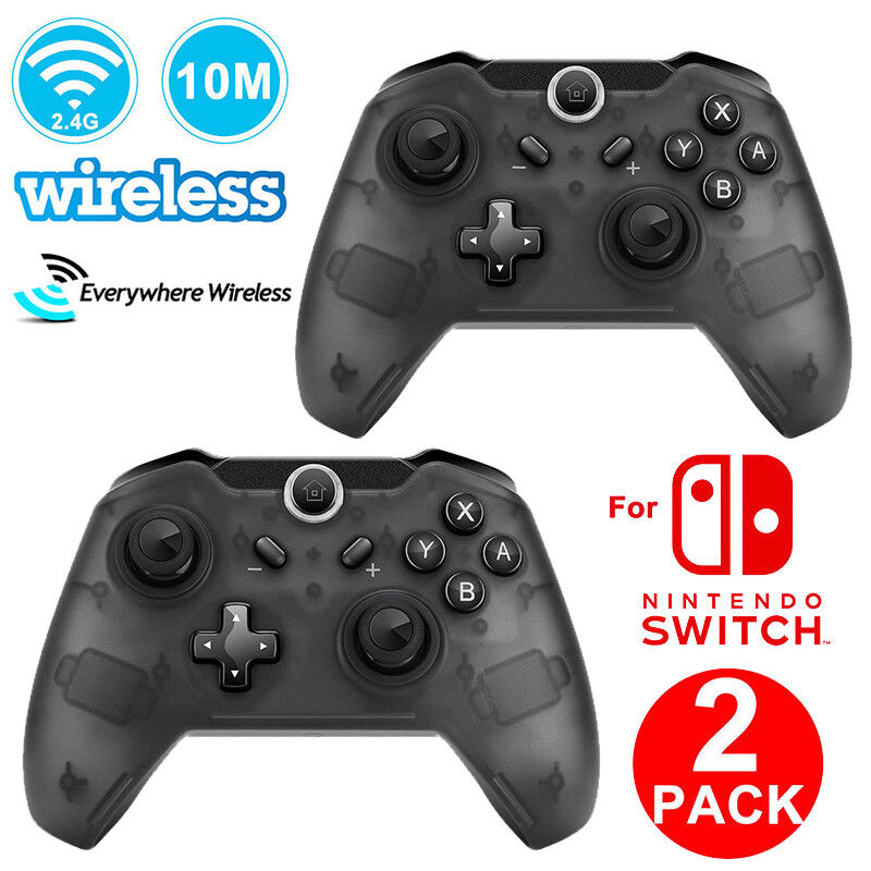 Wireless Pro Controller Remote Gamepad for Nintendo Switch Console Black