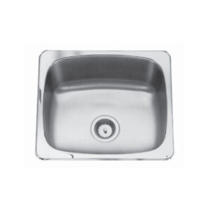Kindred QS1820/10 18 x 20 Single Bowl Laundry Sink