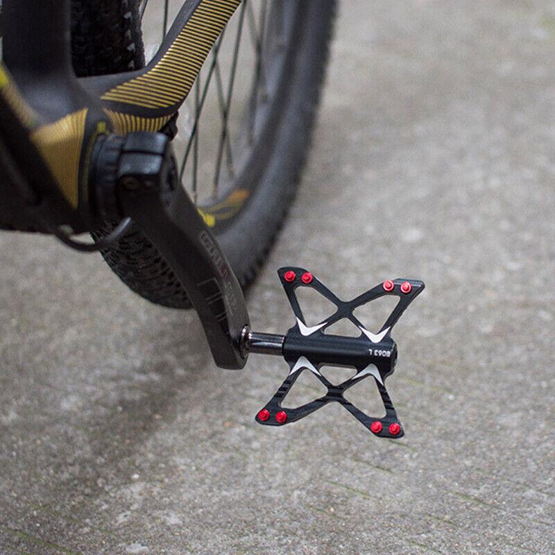 Road MTB Mountain Folding Bike 3 sealed Bearings X Pedals flat Pedal 105*74mm
