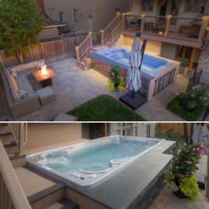 Pool or Hot Tub? Best of Both Worlds in a TidalFit Swim Spa
