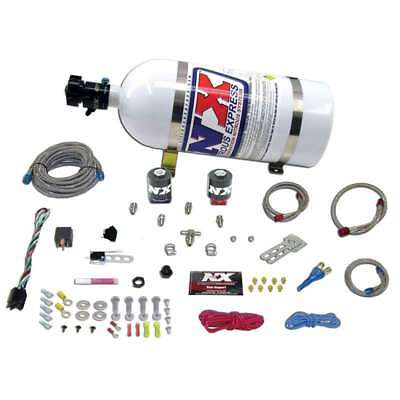 Nitrous Express 20915 10 UNIVERSAL SYSTEM FOR EFI ALL SINGLE NOZZLE  10LB BOTTLE