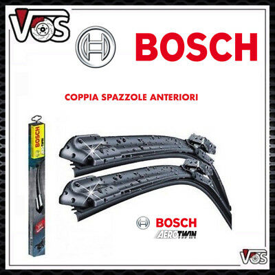 Kit 2 Spazzole tergicristallo BOSCH AEROTWIN FIAT 500 dal 07/2007 ANTERIORE