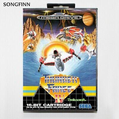 Thunder Force IV Sega Mega Drive Game with Box