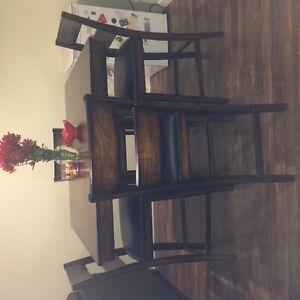 Kitchen table and chairs Regina Regina Area image 1