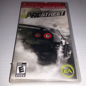 PSP - NEED FOR SPREED - PROSTREET