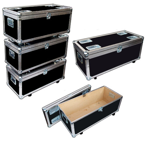 """STACKABLE"" ATA Accessory Case - Light Duty Supply Trunk w/Wheels ID 35x15x13"
