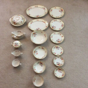 Antique Dishware Set