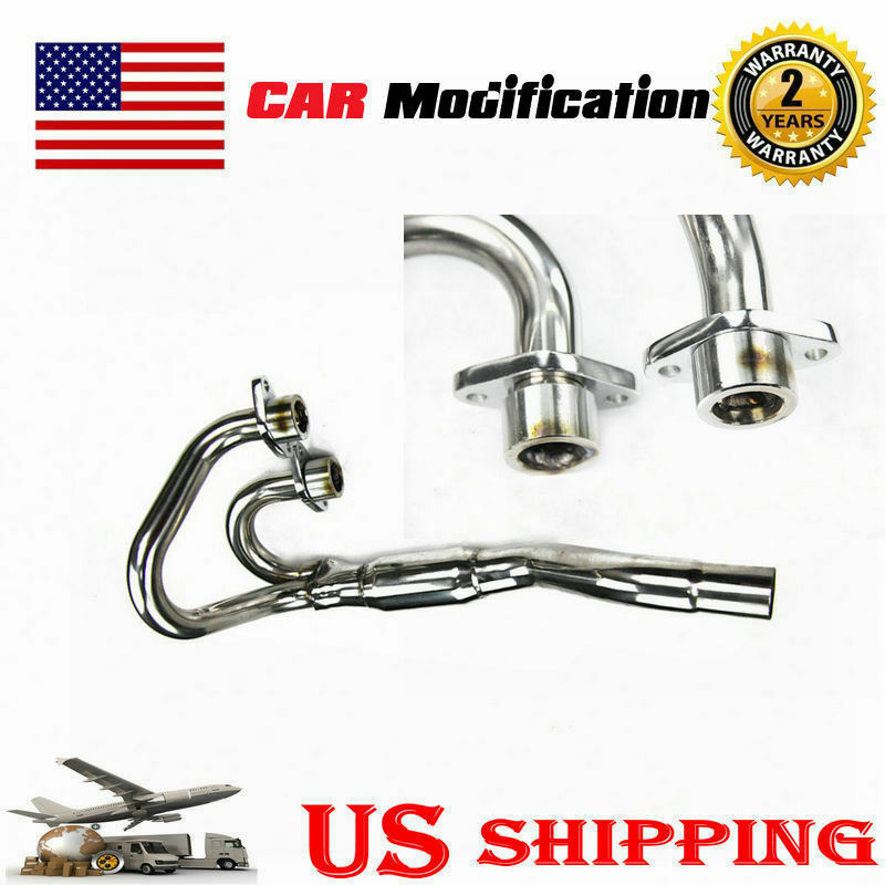 Stainless EXHAUST Head Pipe Header FOR 1996-2004 Honda XR400 Powerbomb USA PRO