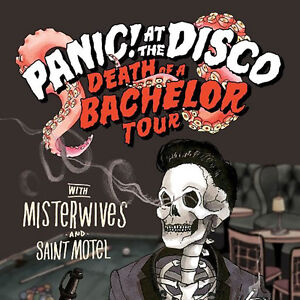 2 Panic! at the Disco tickets