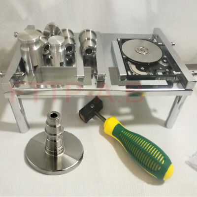 """Hard disk Repair Opening Operating Table+2.5/3.5"""" HDD Platters extractor/Holder"""