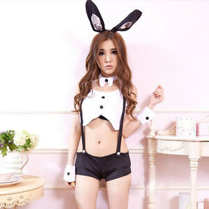 Sexy Bunny Costumes Rabbit Cosplay Sexy Lingerie Suit Uniform SE