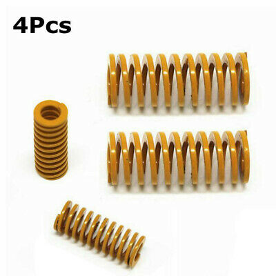 4Pk Compression Heated Bed Springs For 3D Printer Ender 3 Creality CR-10 10S New