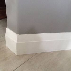 Baseboards and trims installations and Caulking and painting, Al Edmonton Edmonton Area image 9